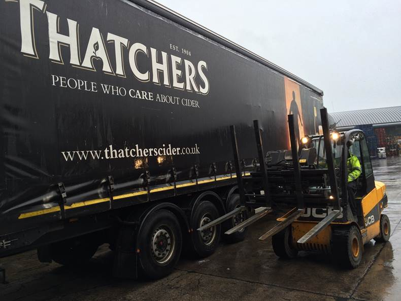 B&B Attachments helps improve productivity at Thatchers Cider