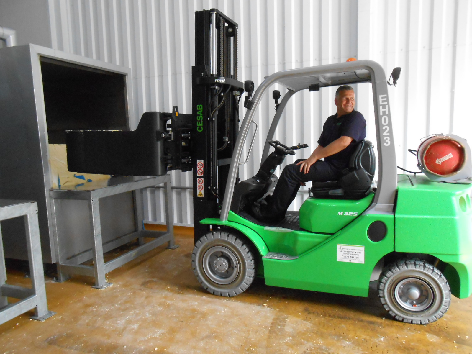 B&B Attachments helps improve productivity at Olam Foods